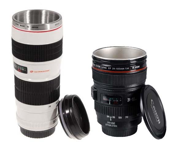 Canon lens mug for Canon photo lens mug